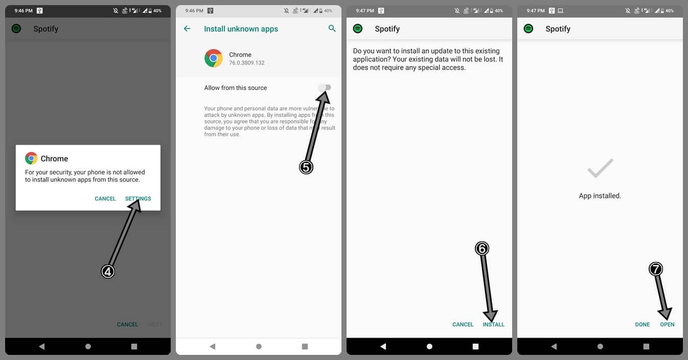 Installing-Spotify-Premium-APK